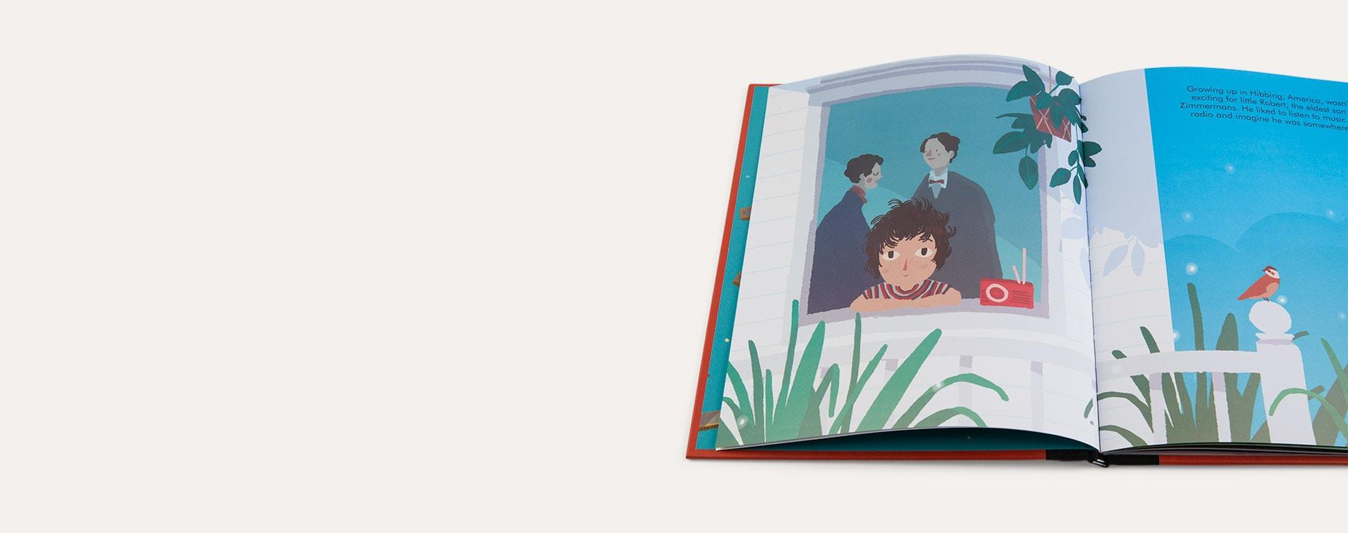 Multi bookspeed Little People Big Dreams: Bob Dylan