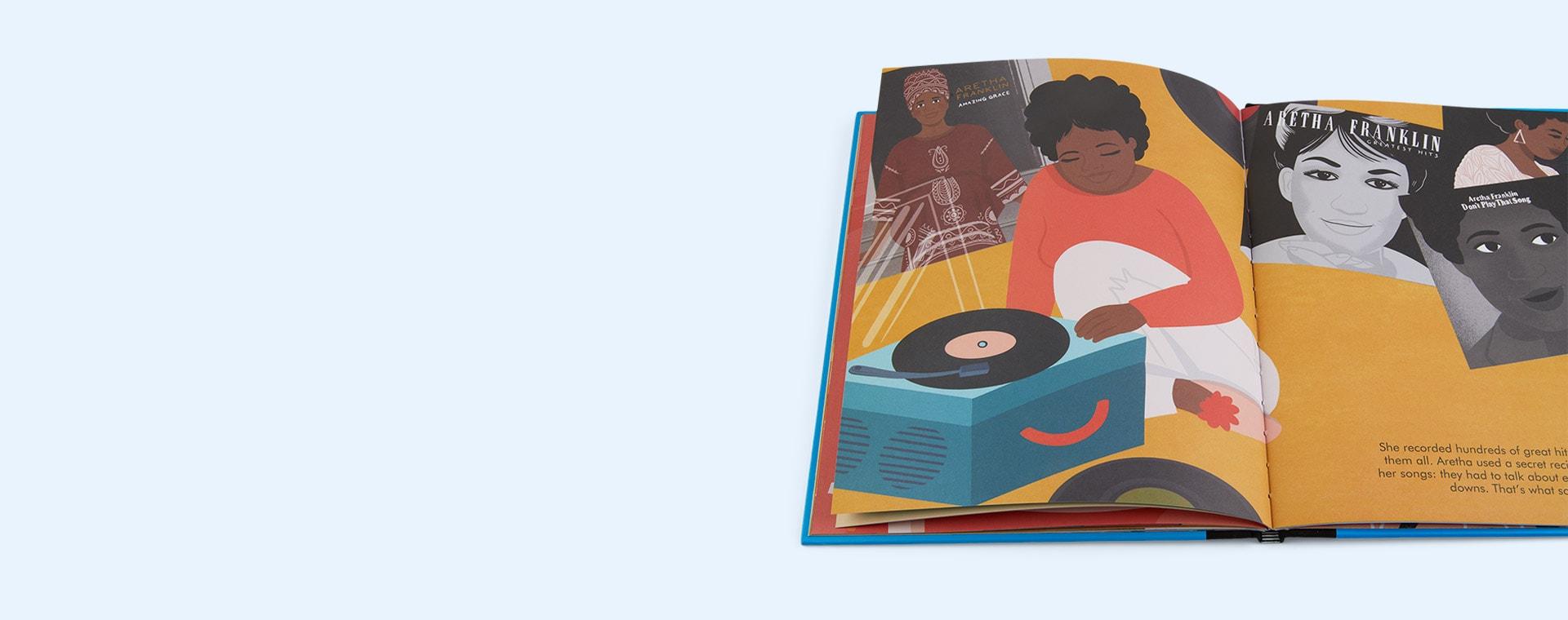 Multi bookspeed Little People Big Dreams: Aretha Franklin