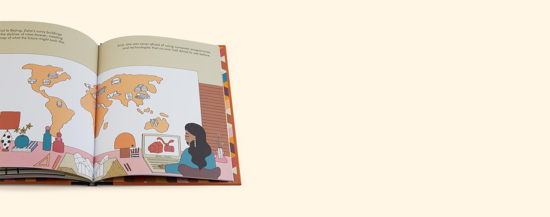 Multi bookspeed Little People Big Dreams: Zaha Hadid