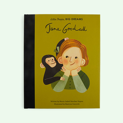 Multi bookspeed Little People Big Dreams: Jane Goodall