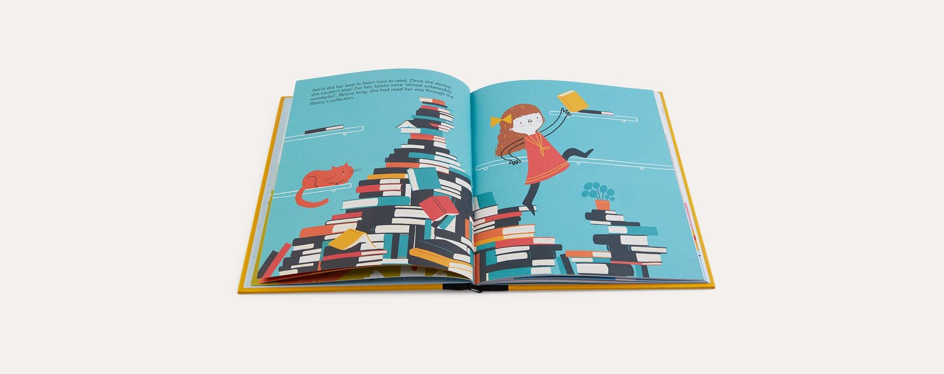Multi bookspeed Little People Big Dreams: Astrid Lindgren