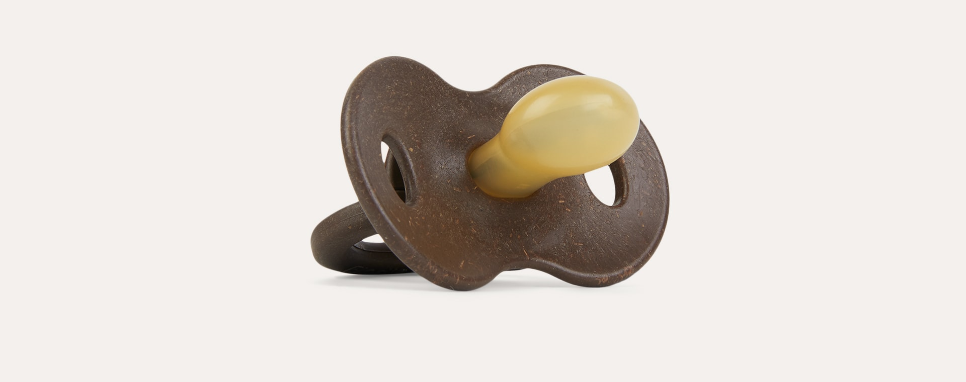 Chocolate Elodie Bamboo Latex Soother