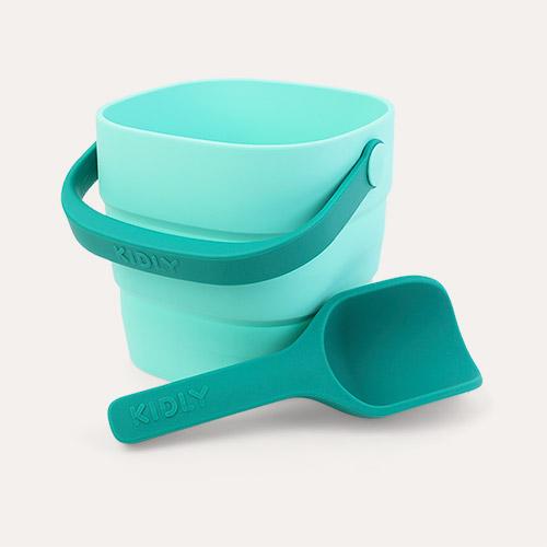 Emerald KIDLY Label Foldaway Bucket & Spade Set