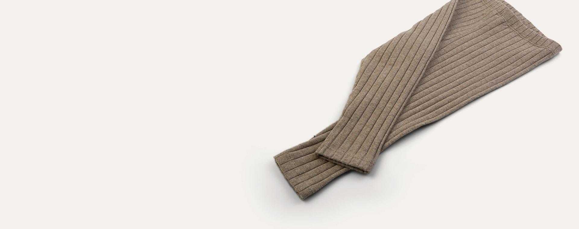 Mink KIDLY Label Brushed Ribbed Legging