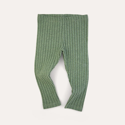 Moss KIDLY Label Brushed Ribbed Legging