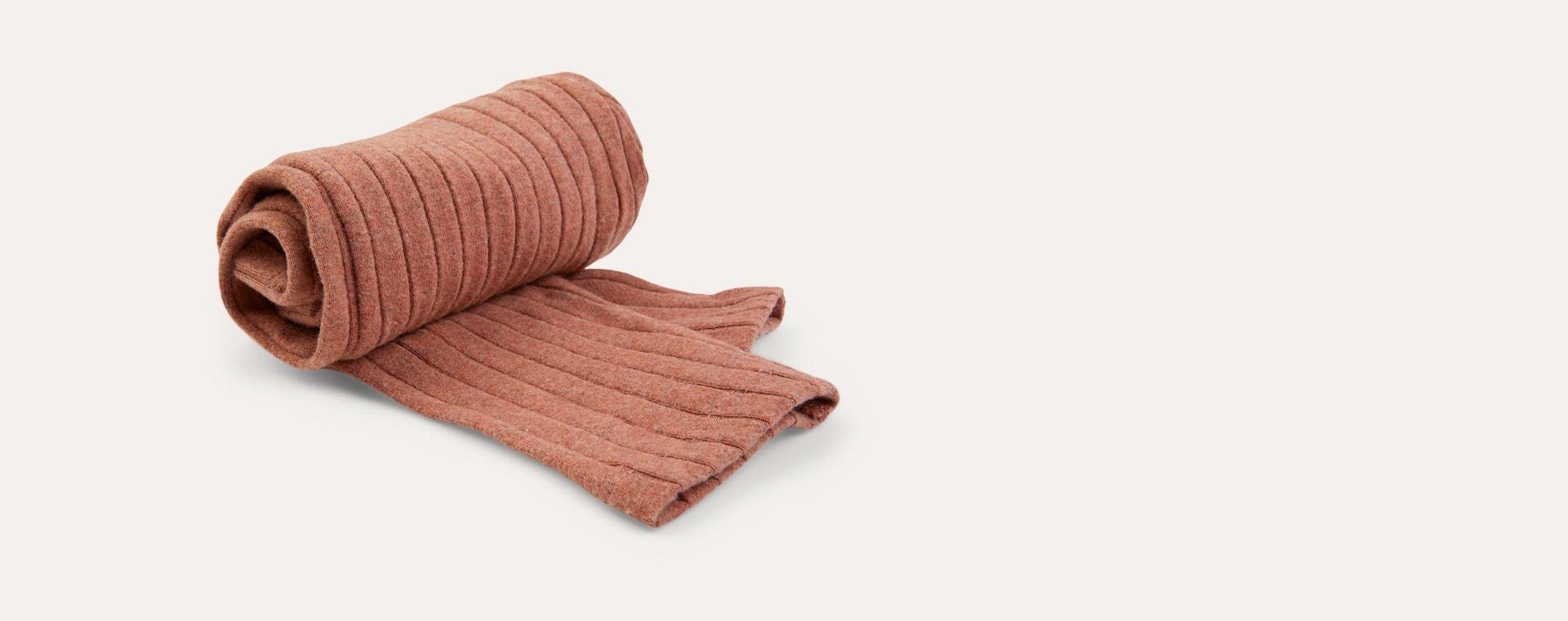 Sepia KIDLY Label Brushed Ribbed Legging