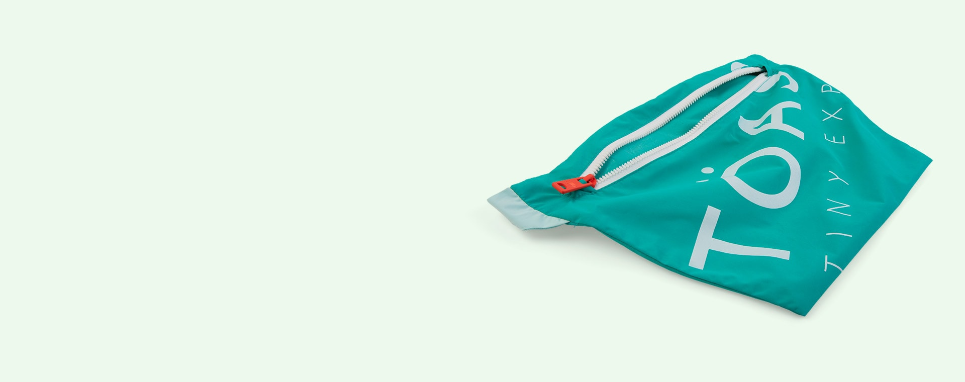 Emerald / Turquoise Töastie Kids FeatherLite Pac-a-Mac
