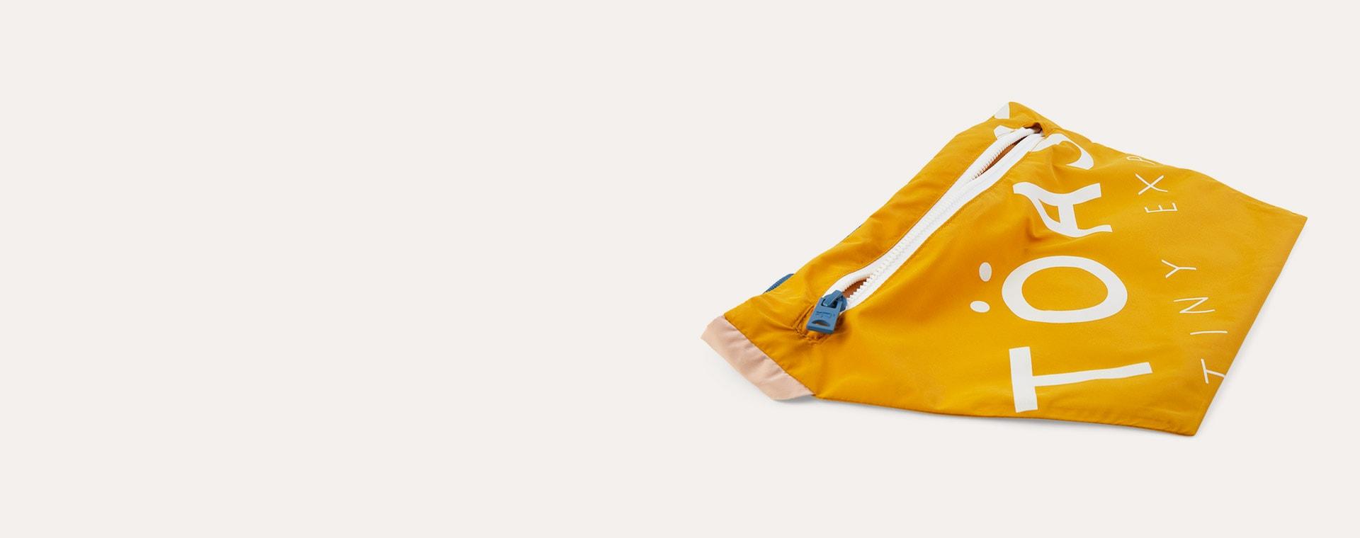 Sunny Yellow / Clay Töastie Kids FeatherLite Pac-a-Mac