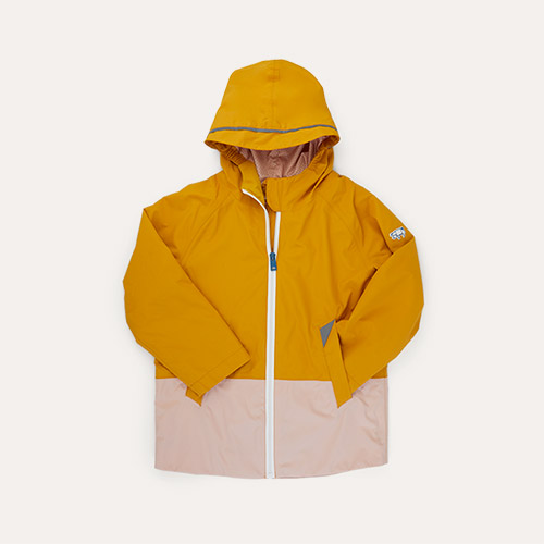 Sunny Yellow / Clay Töastie Kids FeatherLite Pac-a-Mac