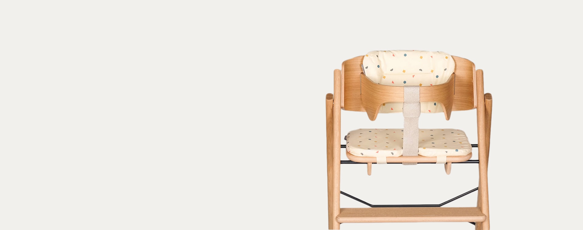 Mixed KAOS Klapp Highchair Cushion Set