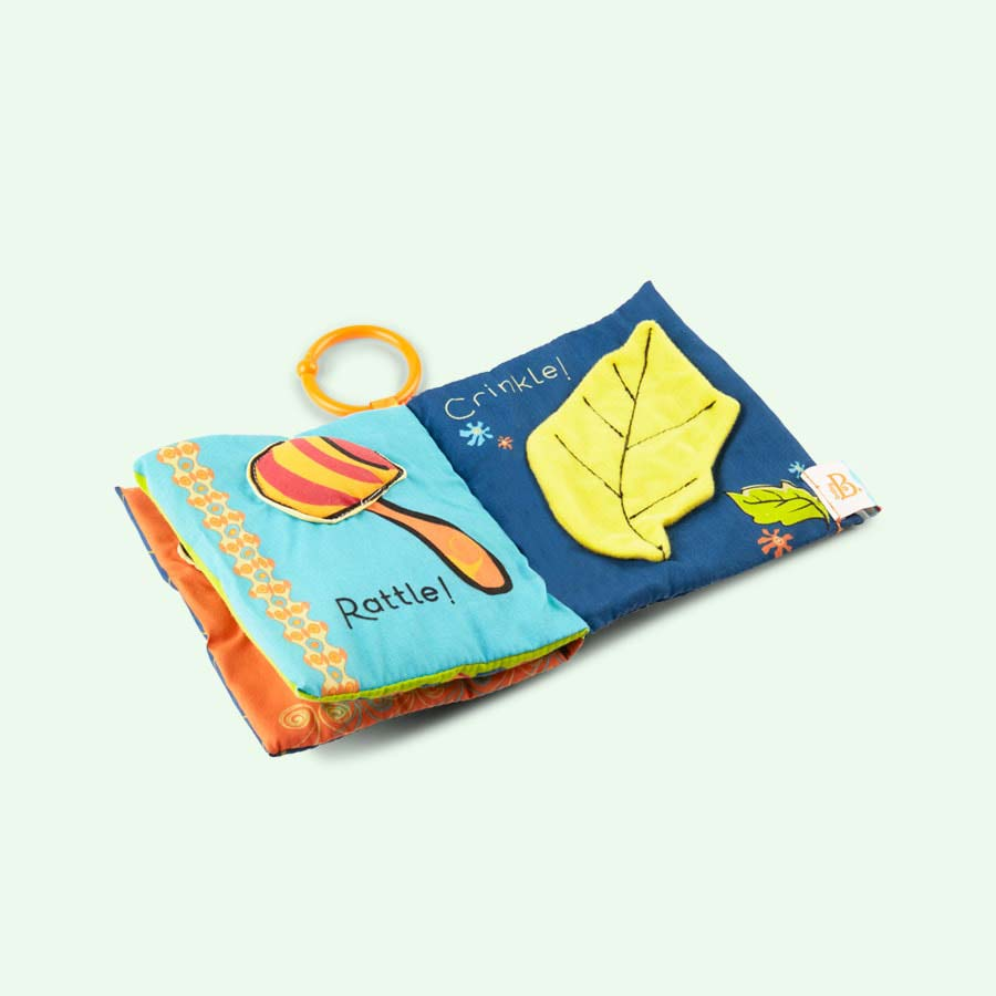 Multi B. Toys B-Heard Baby Book