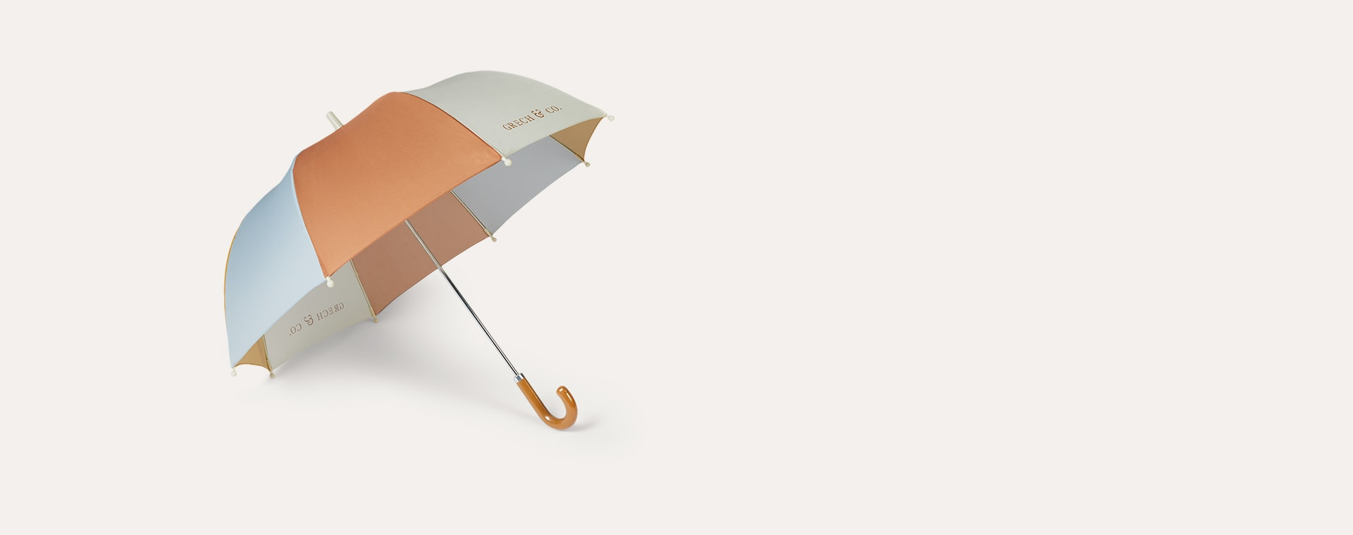 Light Blue Grech & Co Sustainable Umbrella