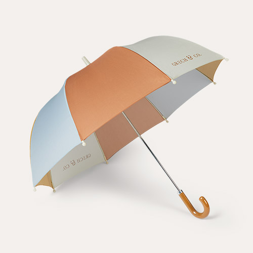 Light Blue Grech & Co Sustainable Umbrella