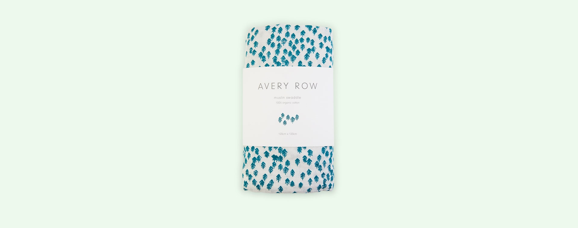 Nordic Forest Avery Row Organic Muslin Swaddle