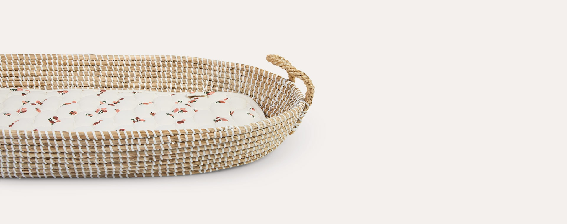 Peaches Avery Row Changing Basket Liner
