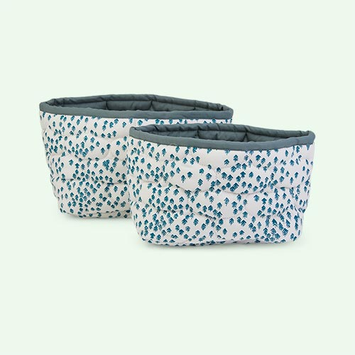 Nordic Forest Avery Row Set Of 2 Storage Baskets