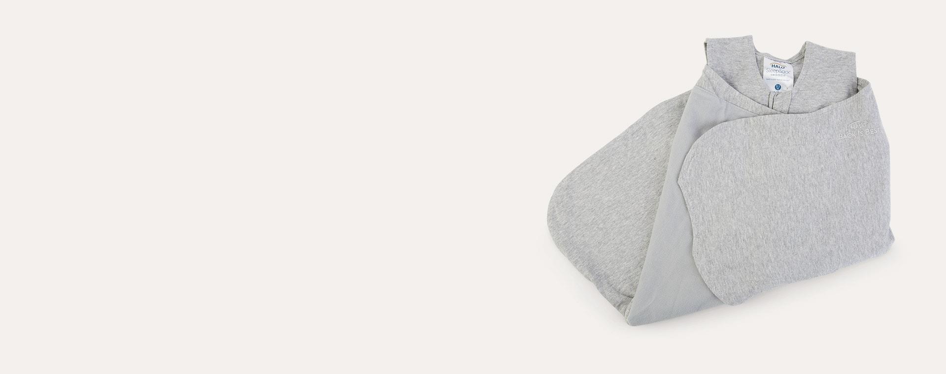 Heather Grey Halo SleepSack Swaddle 1.5 TOG