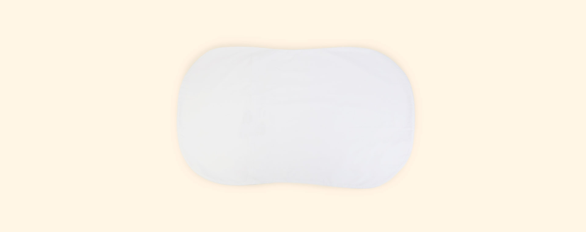 White Halo Bassinest Fitted Sheet