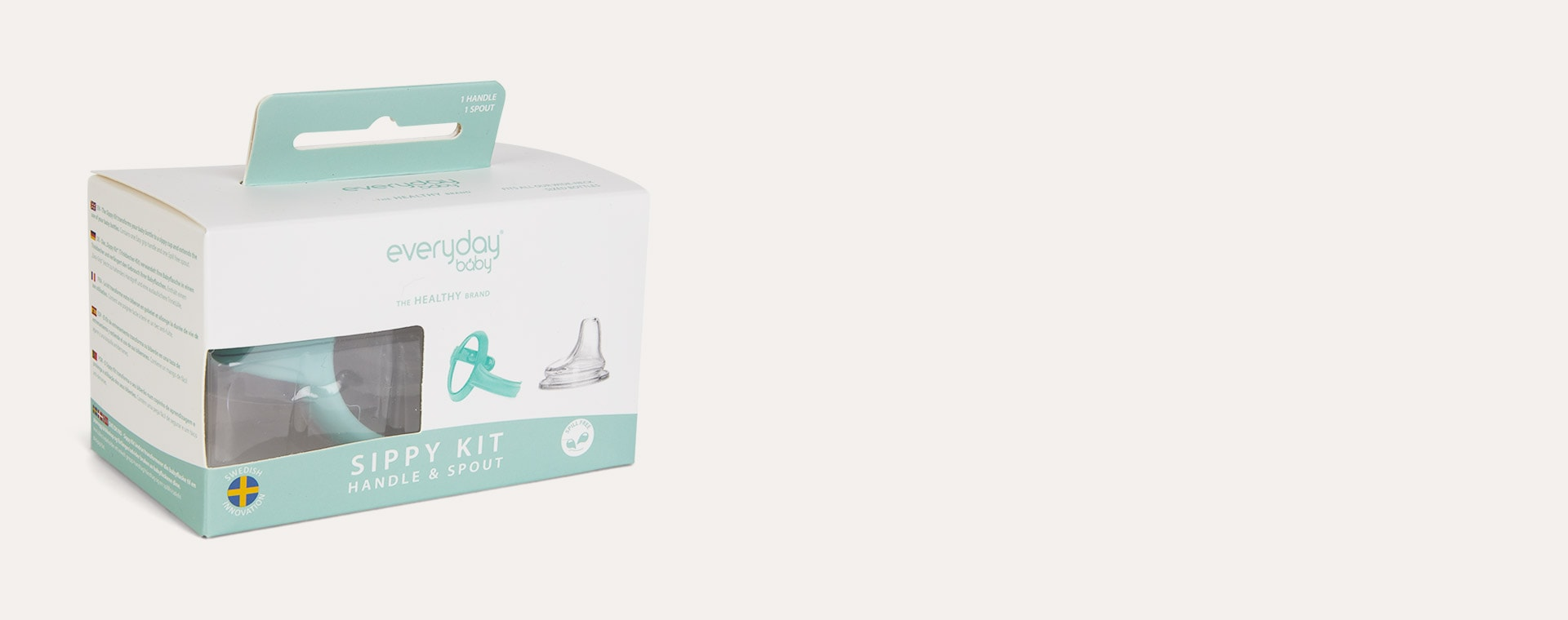 Mint Green Everyday Baby Sippy Kit