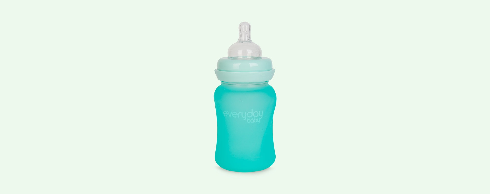 Mint Green Everyday Baby Glass Baby Bottle 150ml