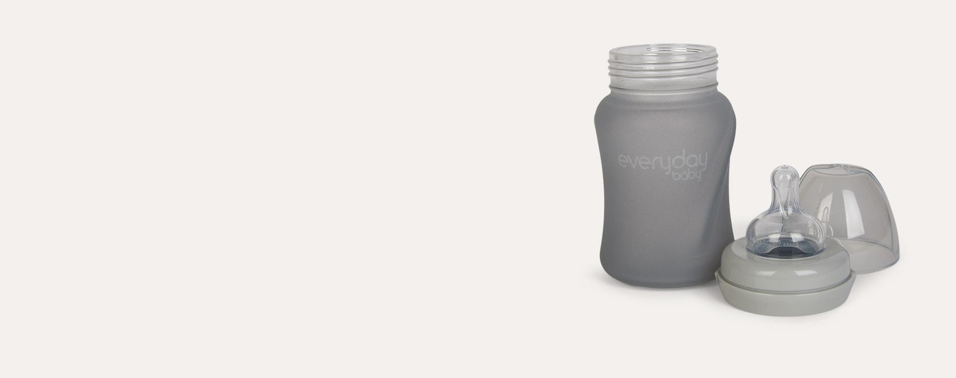 Grey Everyday Baby Glass Baby Bottle 150ml