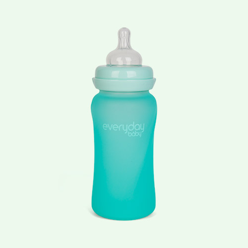 Mint Green Everyday Baby Glass Baby Bottle 240ml