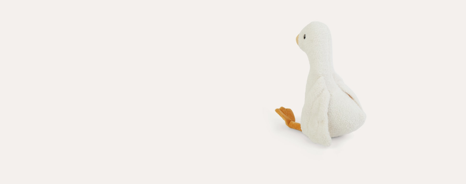 White Little Dutch Large Cuddly Toy Little Goose