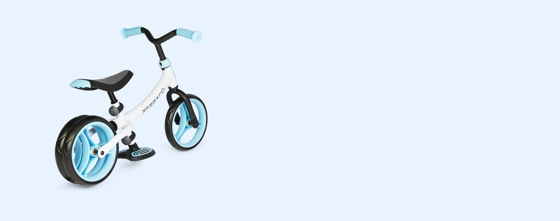 Pastel Blue Globber Go Bike Duo