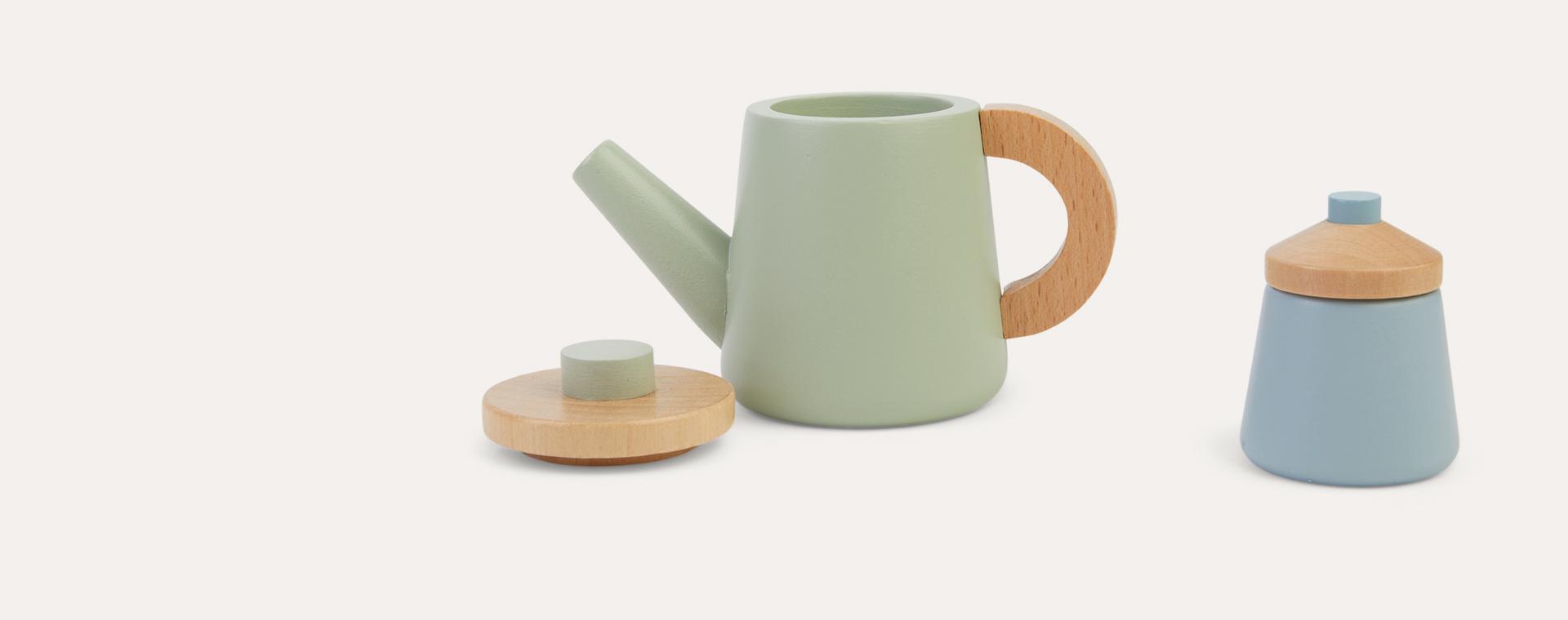 Multi Little Dutch Wooden Tea Set