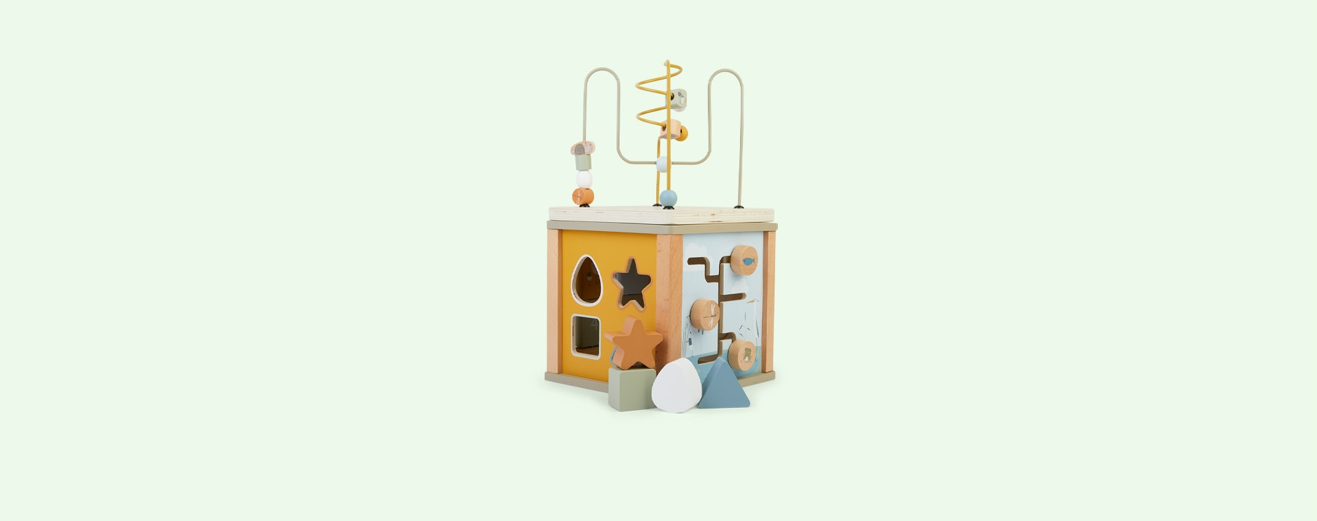 Multi Little Dutch Wooden Activity Cube
