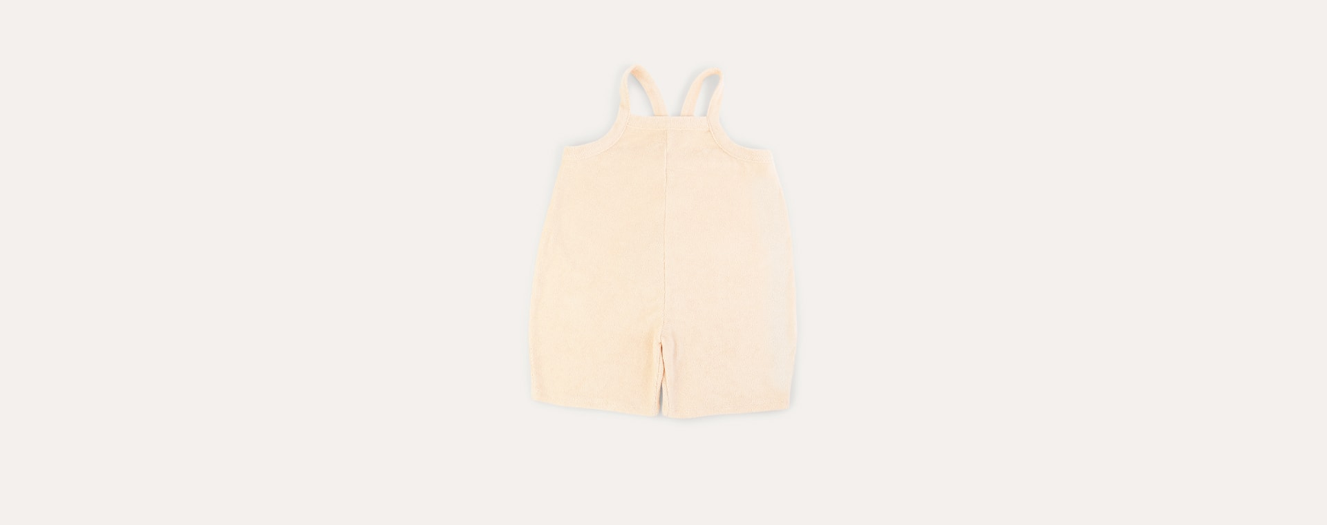 Pebble Organic Zoo Terry Cropped Dungarees
