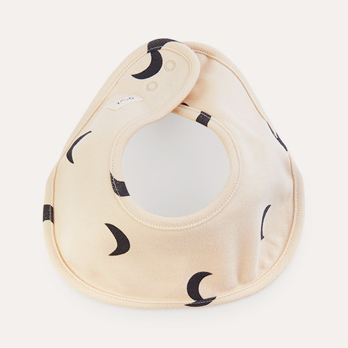 Pebble Midnight Organic Zoo Cotton Bib