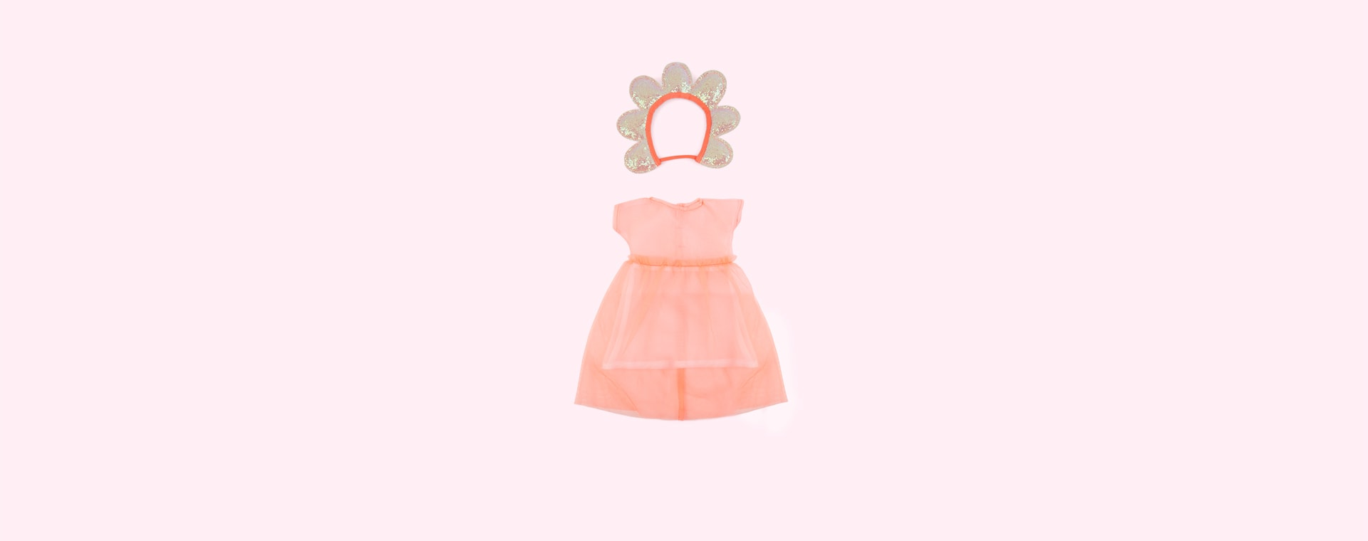 Pink Meri Meri Flower Dolly Dress Up