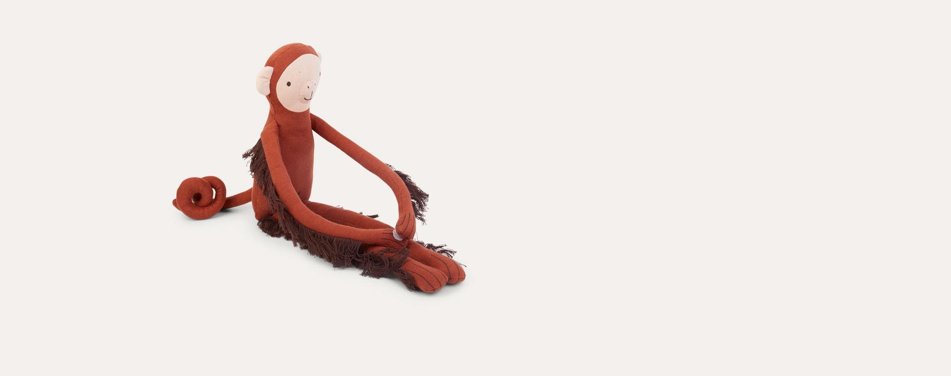 Brown Meri Meri Baboo Monkey