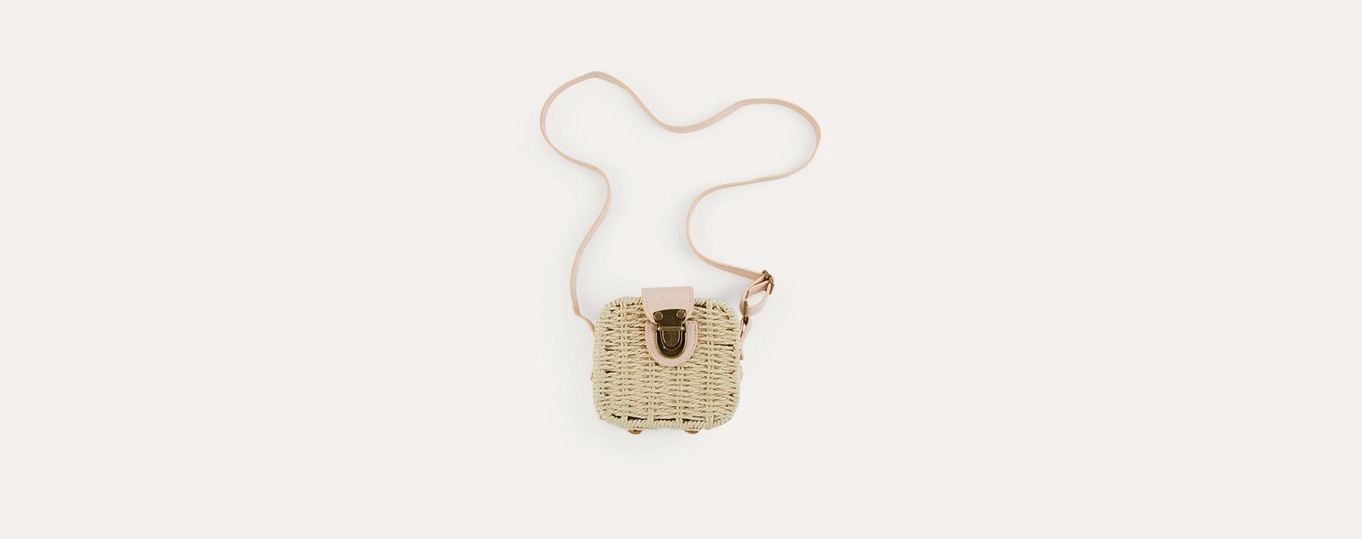 Pink Mimi & Lula Mini Basket Bag