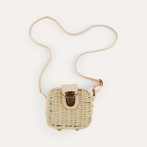 Pink Mimi & Lula Mini Basket Bag