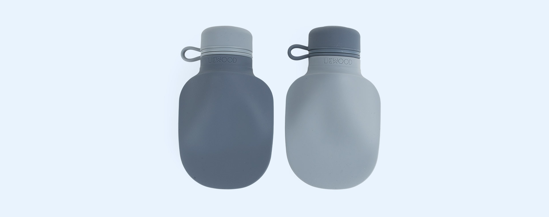 Blue Mix Liewood 2-Pack Silvia Smoothie Bottle