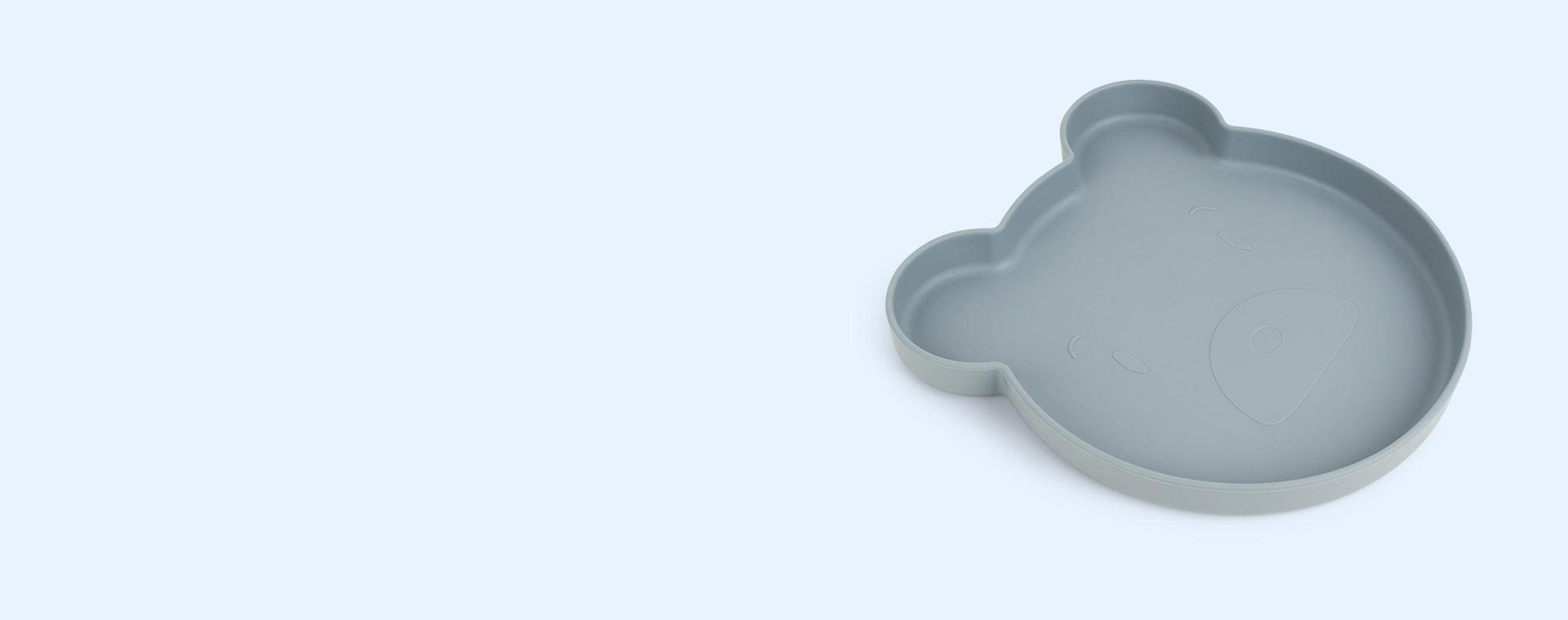 Mr Bear Blue Fog Multi Mix Liewood Arne Divider Plate
