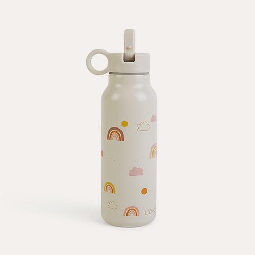 Rainbow Love Mix Liewood Falk Water Bottle