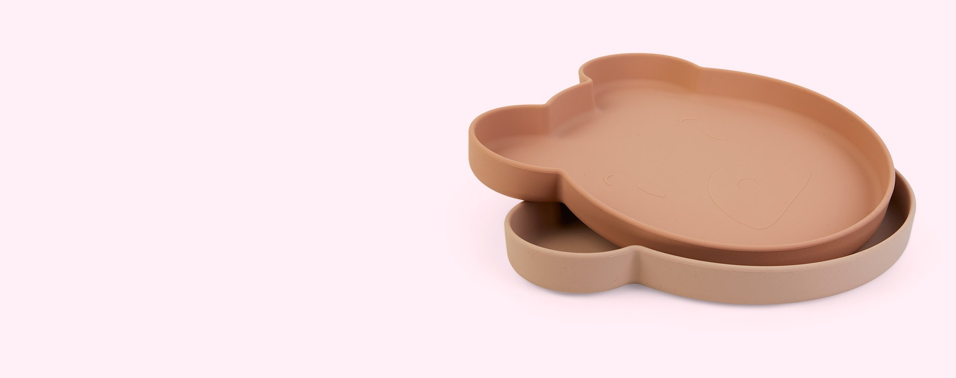 Mr Bear Rose Mix Liewood 2-Pack Marty Plate