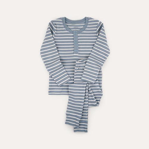 Stripe: Blue Fog/Sandy Liewood Wilhelm Pyjamas Set