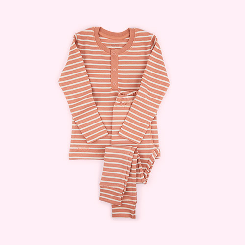 Stripe: Tuscany Rose/Sandy Liewood Wilhelm Pyjamas Set