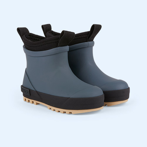 Whale Blue/Sandy Mix Liewood Ruby Hybrid Boot