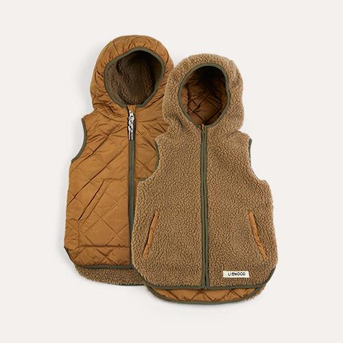 Golden Liewood Diana Reversible Vest