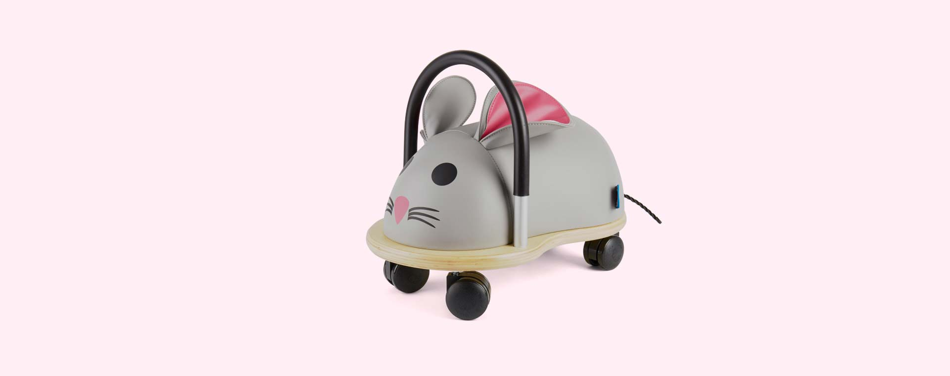 Grey Wheely Bug Mouse Ride-on