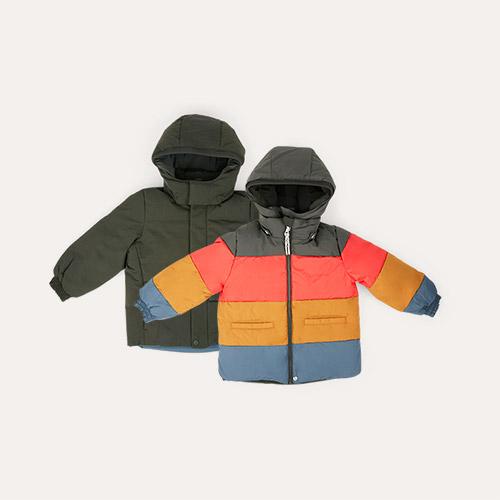 Hunter Green Liewood Paloma Puffer Jacket