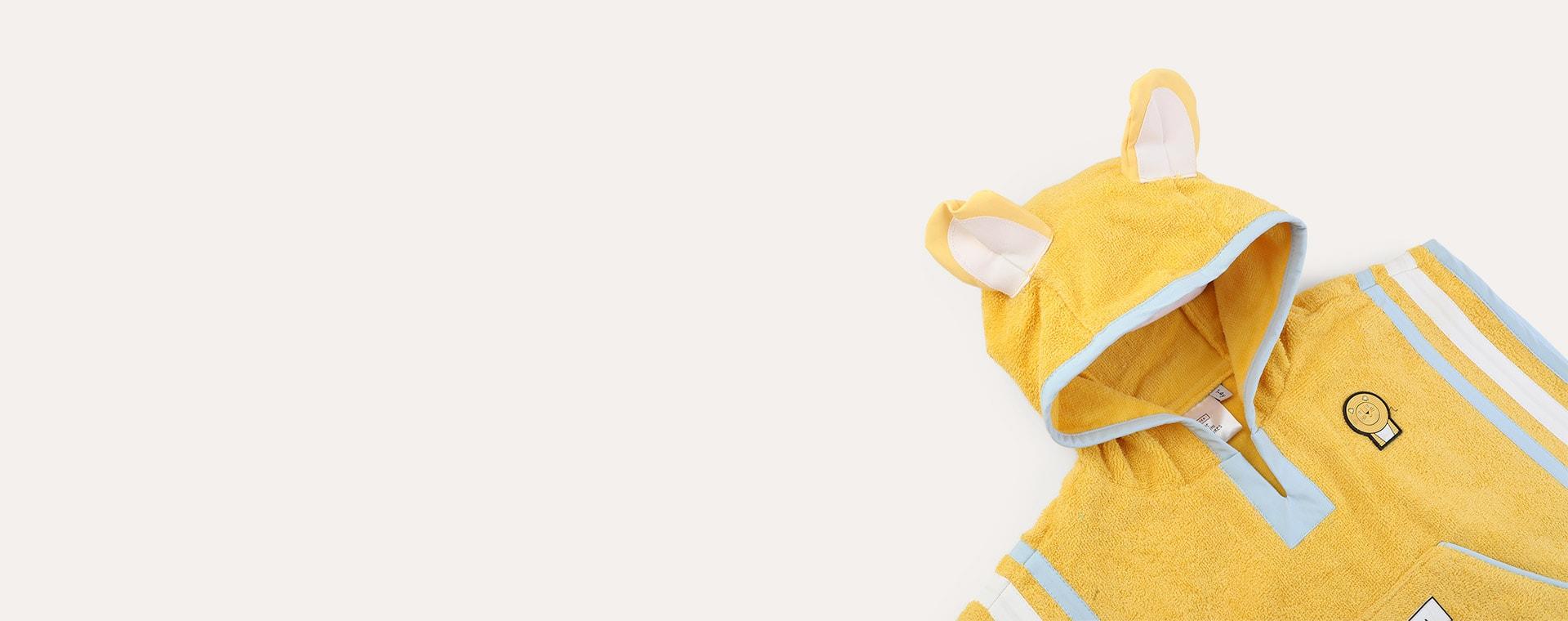 Cub dinoSea Hooded Towel