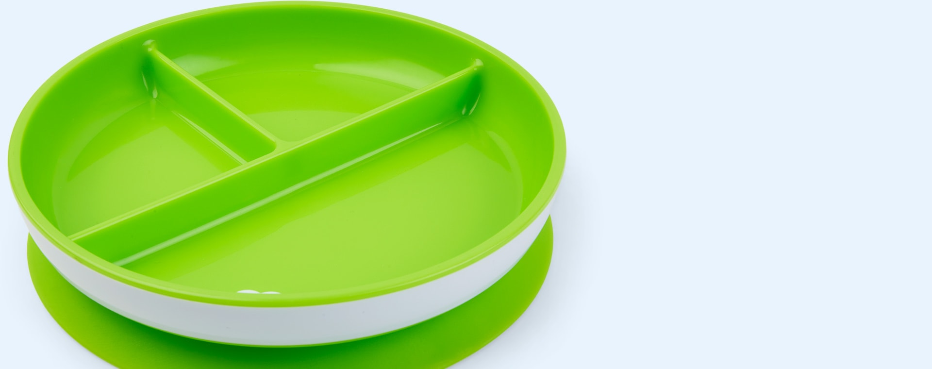 Blue/Green Munchkin 2-Pack Suction Plates