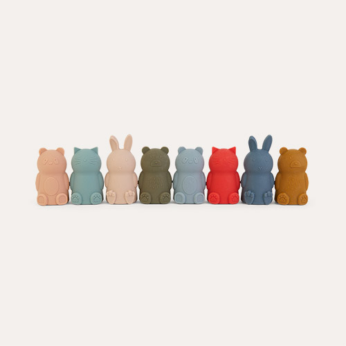 Multi Mix Liewood 8-Pack Jim Finger Puppets