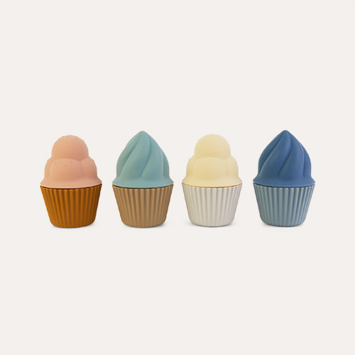 Multi Mix Liewood 4-pack Kate Cupcakes Toy
